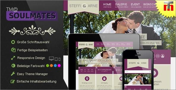 Hochzeits-Webseite